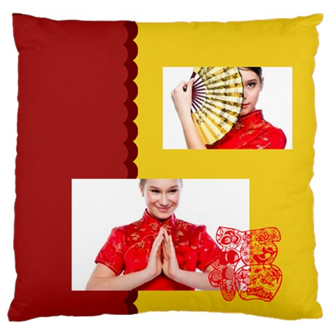 Chinese New Year By Ch   Standard Flano Cushion Case (one Side)   5xy8sk8c0bm7   Www Artscow Com Front
