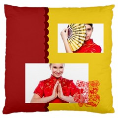 Chinese New Year By Ch   Large Flano Cushion Case (two Sides)   Qt1jkpyn58sr   Www Artscow Com Front