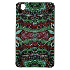 Tribal Ornament Pattern In Red And Green Colors Samsung Galaxy Tab Pro 8 4 Hardshell Case