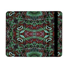 Tribal Ornament Pattern In Red And Green Colors Samsung Galaxy Tab Pro 8 4  Flip Case by dflcprints
