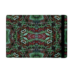 Tribal Ornament Pattern In Red And Green Colors Apple Ipad Mini 2 Flip Case by dflcprints