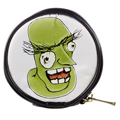 Mad Monster Man With Evil Expression Mini Makeup Case by dflcprints