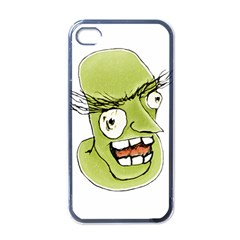 Mad Monster Man With Evil Expression Apple Iphone 4 Case (black) by dflcprints