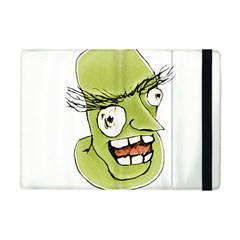 Mad Monster Man With Evil Expression Apple Ipad Mini Flip Case by dflcprints