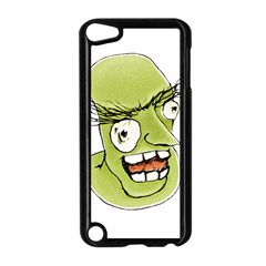 Mad Monster Man With Evil Expression Apple Ipod Touch 5 Case (black) by dflcprints