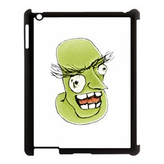Mad Monster Man With Evil Expression Apple Ipad 3/4 Case (black) by dflcprints