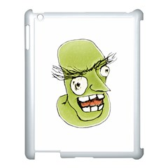 Mad Monster Man With Evil Expression Apple Ipad 3/4 Case (white) by dflcprints
