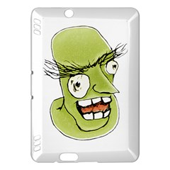 Mad Monster Man With Evil Expression Kindle Fire Hdx Hardshell Case by dflcprints