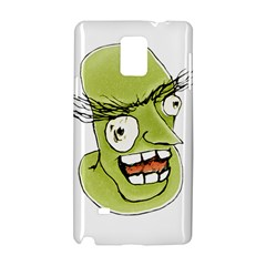 Mad Monster Man with Evil Expression Samsung Galaxy Note 4 Hardshell Case by dflcprints