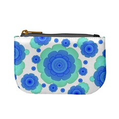 Retro Style Decorative Abstract Pattern Coin Change Purse by dflcprints