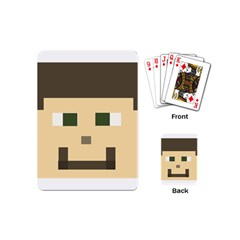 Custom Block Head Playing Cards (mini) by BlockCrafts