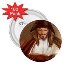 Anonymous Reading 2 25  Button (100 Pack) by AnonMart