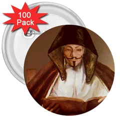Anonymous Reading 3  Button (100 Pack) by AnonMart