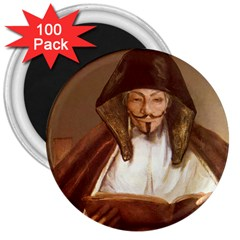 Anonymous Reading 3  Button Magnet (100 Pack) by AnonMart