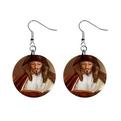 Anonymous Reading Mini Button Earrings