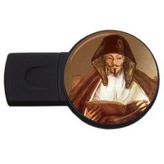Anonymous Reading 2gb Usb Flash Drive (round) by AnonMart