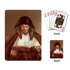 Anonymous Reading Playing Cards Single Design by AnonMart
