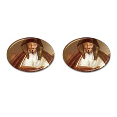 Anonymous Reading Cufflinks (oval) by AnonMart