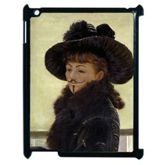 Anonymous Reading Apple Ipad 2 Case (black) by AnonMart