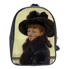 Anonymous Reading School Bag (xl) by AnonMart