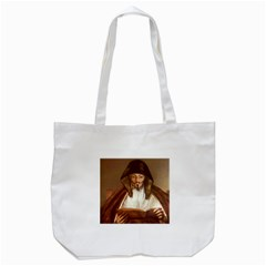 Anonymous Reading Tote Bag (white) by AnonMart