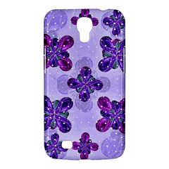 Deluxe Ornate Pattern Design In Blue And Fuchsia Colors Samsung Galaxy Mega 6 3  I9200 Hardshell Case by dflcprints