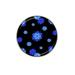 Floral Print Modern Style Pattern  Golf Ball Marker (for Hat Clip) by dflcprints