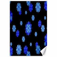 Floral Print Modern Style Pattern  Canvas 20  X 30  (unframed) by dflcprints