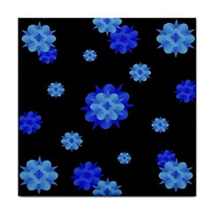 Floral Print Modern Style Pattern  Face Towel by dflcprints