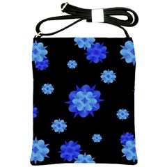 Floral Print Modern Style Pattern  Shoulder Sling Bag by dflcprints