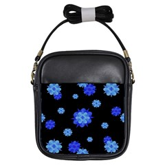 Floral Print Modern Style Pattern  Girl s Sling Bag by dflcprints