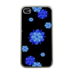 Floral Print Modern Style Pattern  Apple Iphone 4 Case (clear) by dflcprints