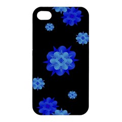 Floral Print Modern Style Pattern  Apple Iphone 4/4s Premium Hardshell Case by dflcprints
