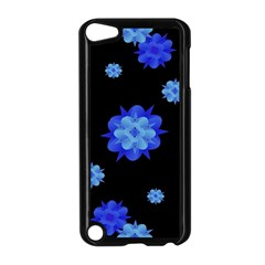Floral Print Modern Style Pattern  Apple Ipod Touch 5 Case (black) by dflcprints
