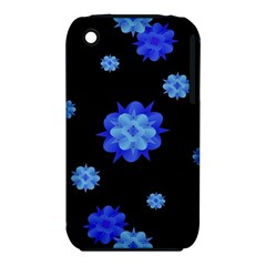 Floral Print Modern Style Pattern  Apple Iphone 3g/3gs Hardshell Case (pc+silicone) by dflcprints