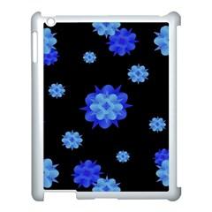 Floral Print Modern Style Pattern  Apple Ipad 3/4 Case (white) by dflcprints
