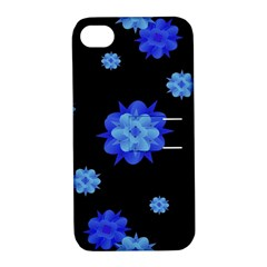 Floral Print Modern Style Pattern  Apple Iphone 4/4s Hardshell Case With Stand by dflcprints
