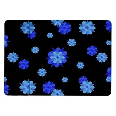 Floral Print Modern Style Pattern  Samsung Galaxy Tab 10.1  P7500 Flip Case by dflcprints