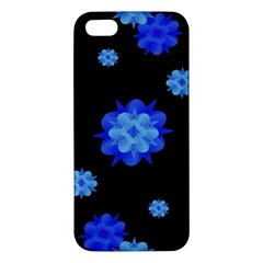 Floral Print Modern Style Pattern  Iphone 5s Premium Hardshell Case by dflcprints