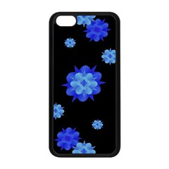 Floral Print Modern Style Pattern  Apple Iphone 5c Seamless Case (black) by dflcprints