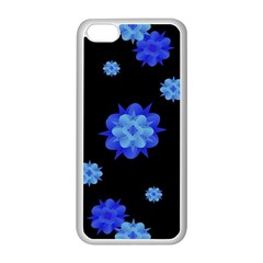 Floral Print Modern Style Pattern  Apple Iphone 5c Seamless Case (white) by dflcprints