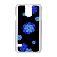 Floral Print Modern Style Pattern  Samsung Galaxy S5 Case (white) by dflcprints
