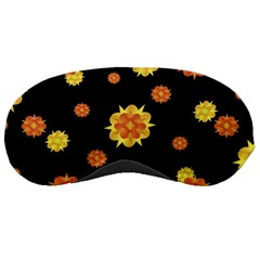 Floral Print Modern Style Pattern  Sleeping Mask by dflcprints