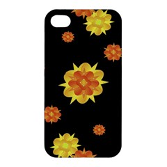 Floral Print Modern Style Pattern  Apple Iphone 4/4s Hardshell Case by dflcprints