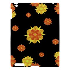 Floral Print Modern Style Pattern  Apple Ipad 3/4 Hardshell Case by dflcprints