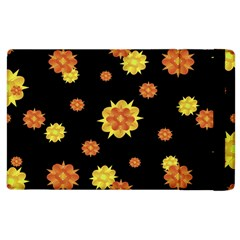 Floral Print Modern Style Pattern  Apple Ipad 3/4 Flip Case by dflcprints