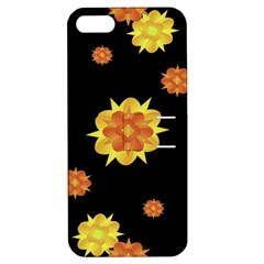 Floral Print Modern Style Pattern  Apple Iphone 5 Hardshell Case With Stand by dflcprints