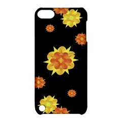 Floral Print Modern Style Pattern  Apple Ipod Touch 5 Hardshell Case With Stand by dflcprints