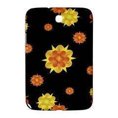 Floral Print Modern Style Pattern  Samsung Galaxy Note 8 0 N5100 Hardshell Case  by dflcprints
