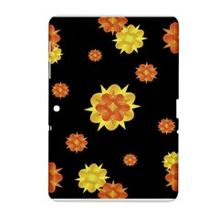 Floral Print Modern Style Pattern  Samsung Galaxy Tab 2 (10 1 ) P5100 Hardshell Case  by dflcprints